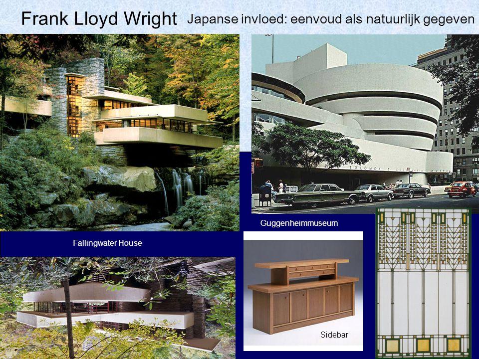 Frank Lloyd Wright Japanse invloed: eenvoud als natuurlijk gegeven