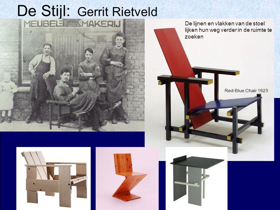 De Stijl: Gerrit Rietveld