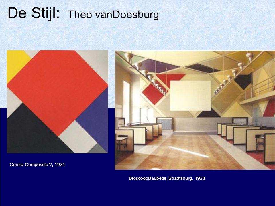 De Stijl: Theo vanDoesburg