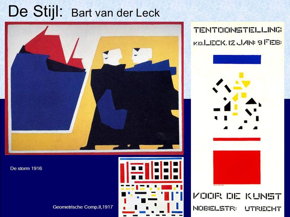 De Stijl: Bart van der Leck
