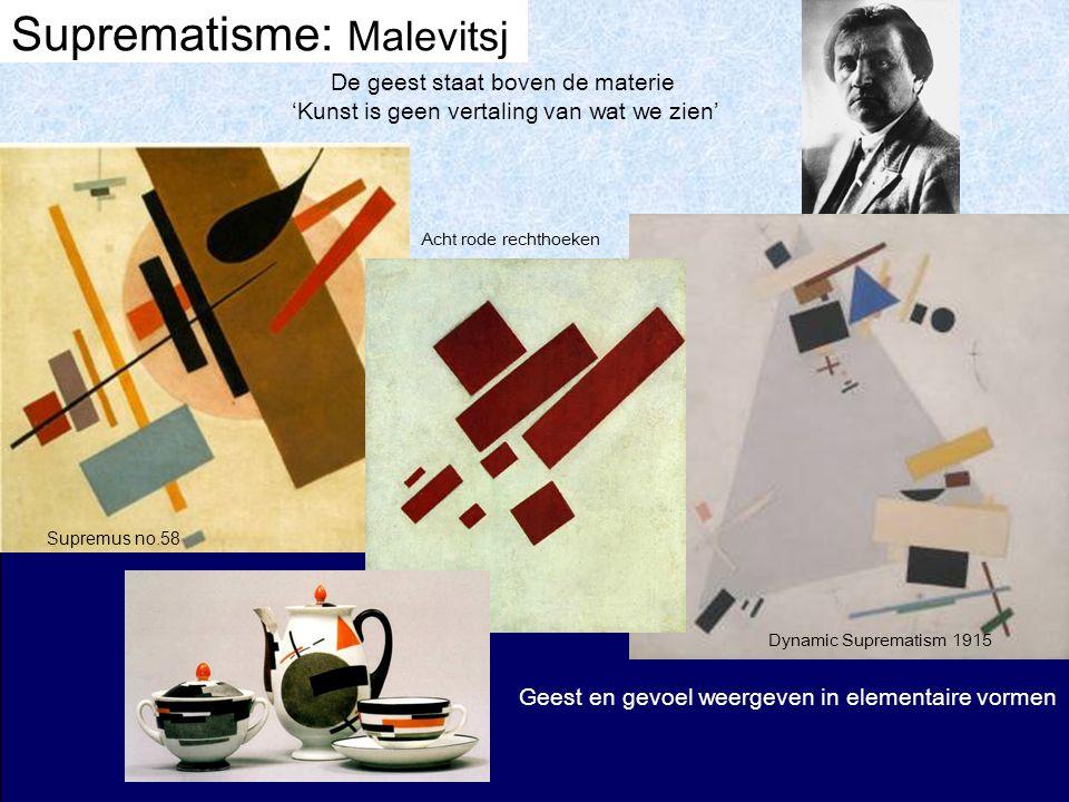 Suprematisme: Malevitsj