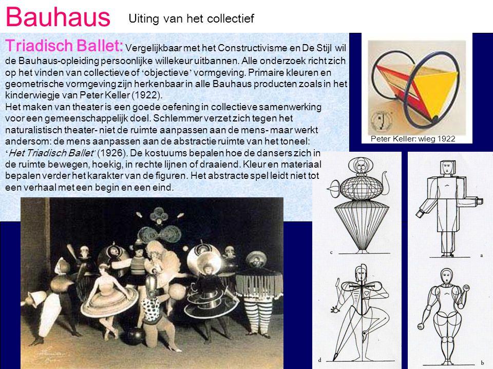 Bauhaus Uiting van het collectief.