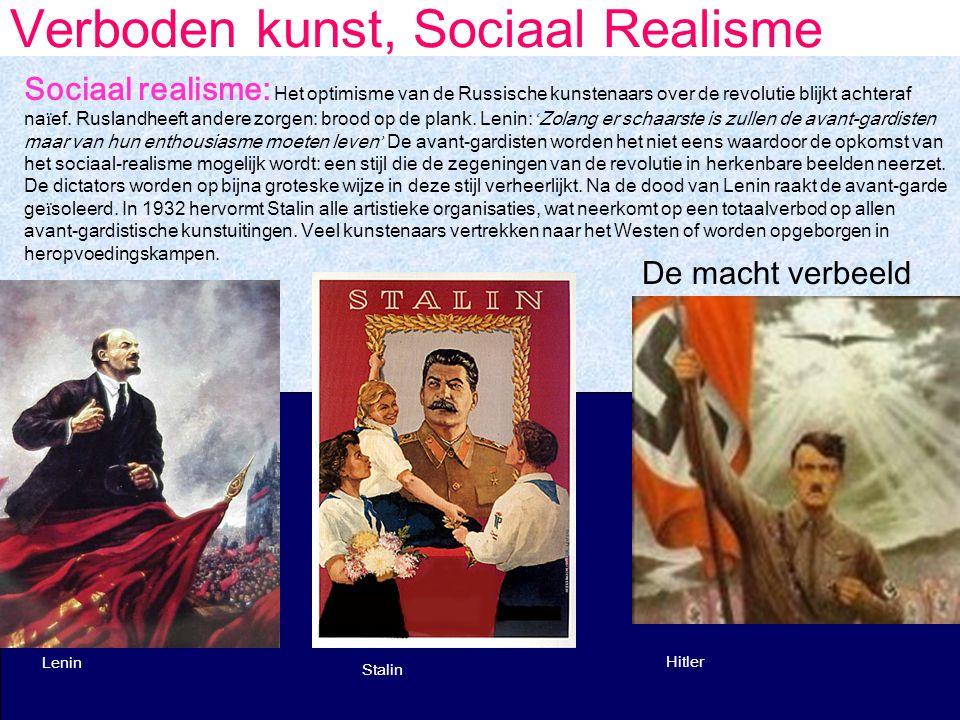 Verboden kunst, Sociaal Realisme