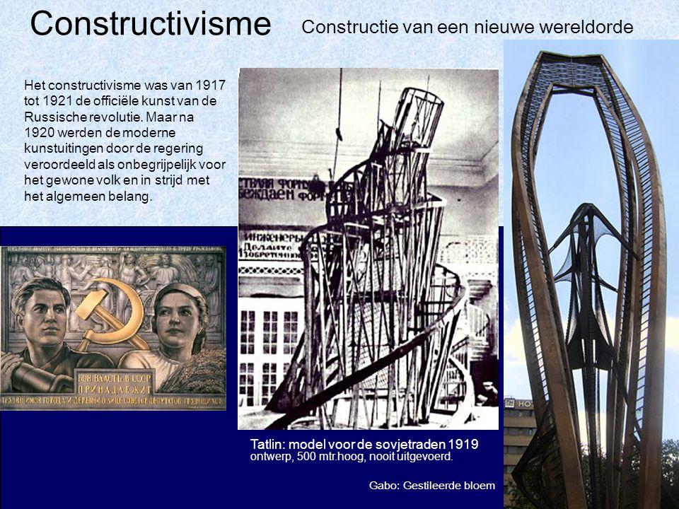 Constructivisme Constructie van een nieuwe wereldorde