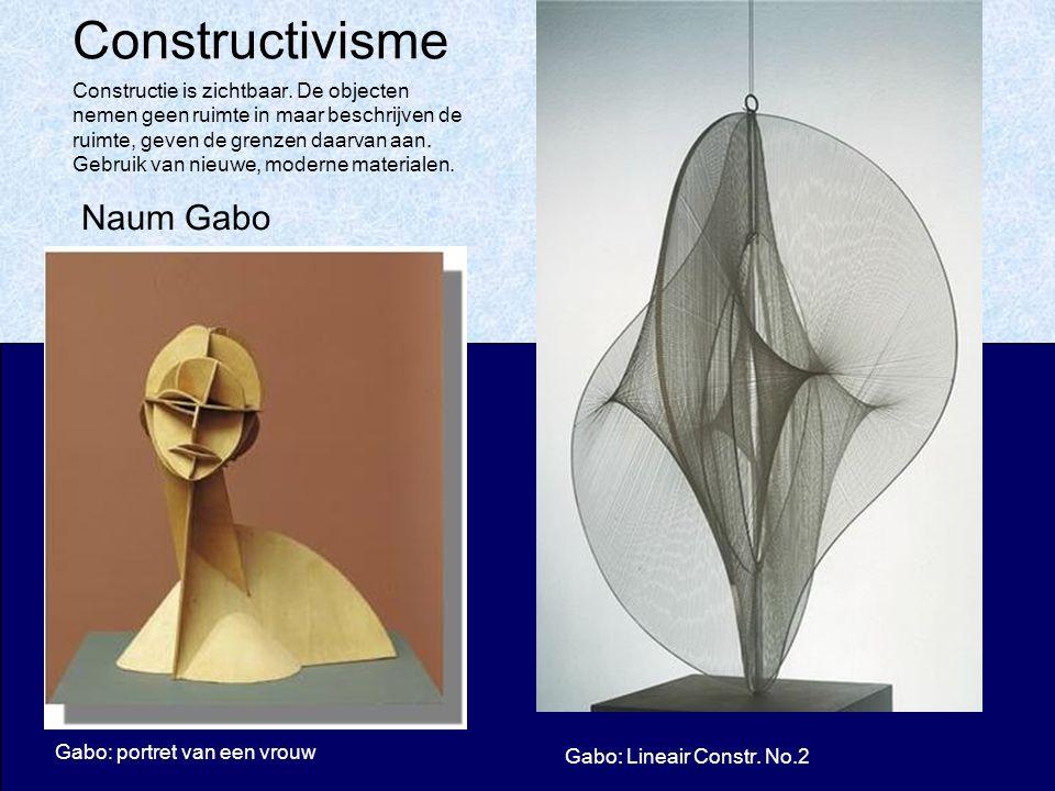 Constructivisme Naum Gabo