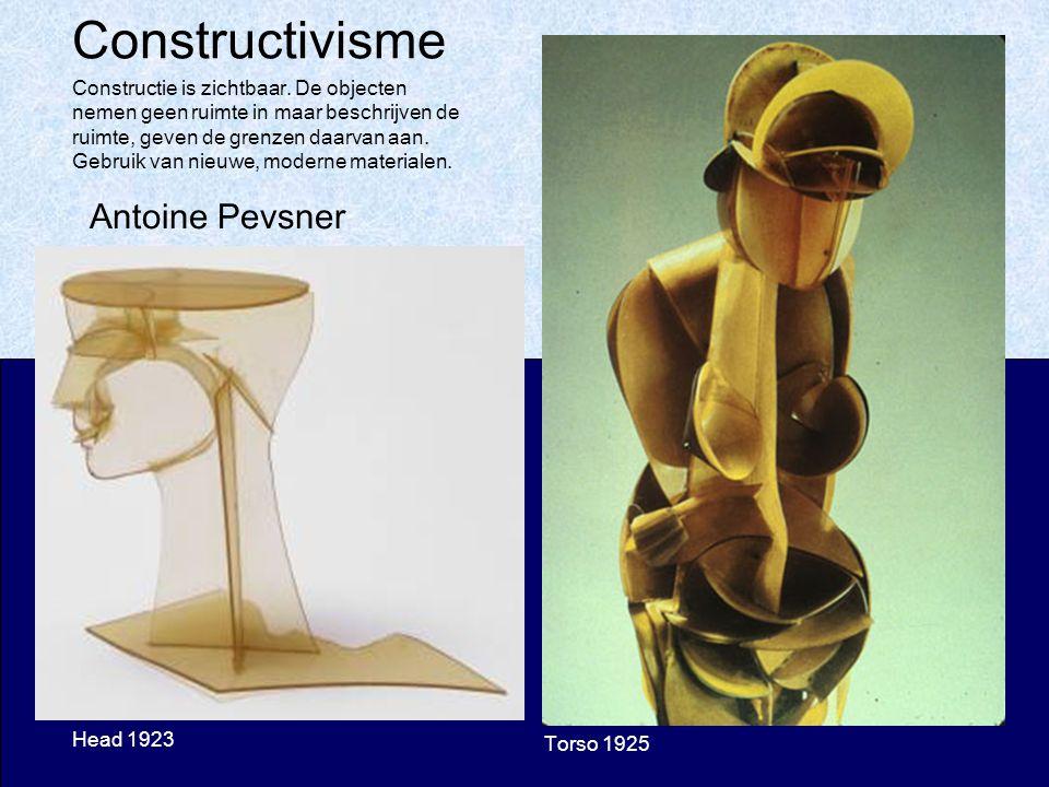 Constructivisme Antoine Pevsner