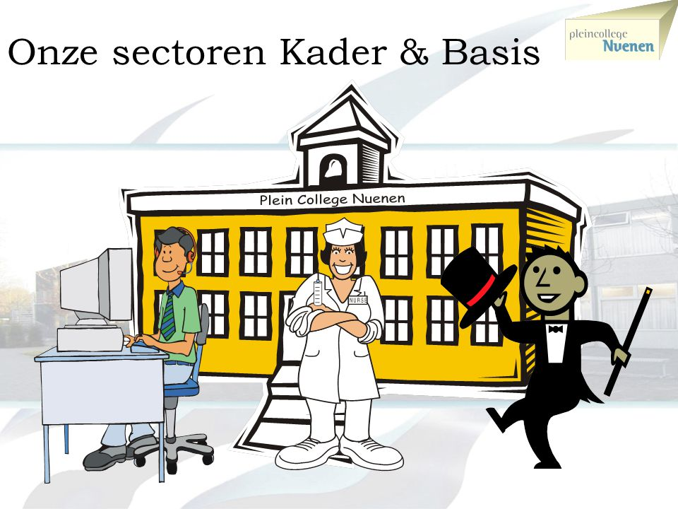 Onze sectoren Kader & Basis