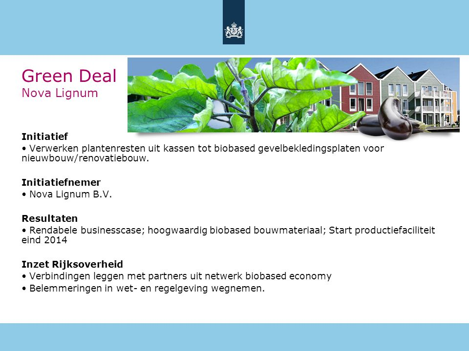 Green Deal Nova Lignum Initiatief