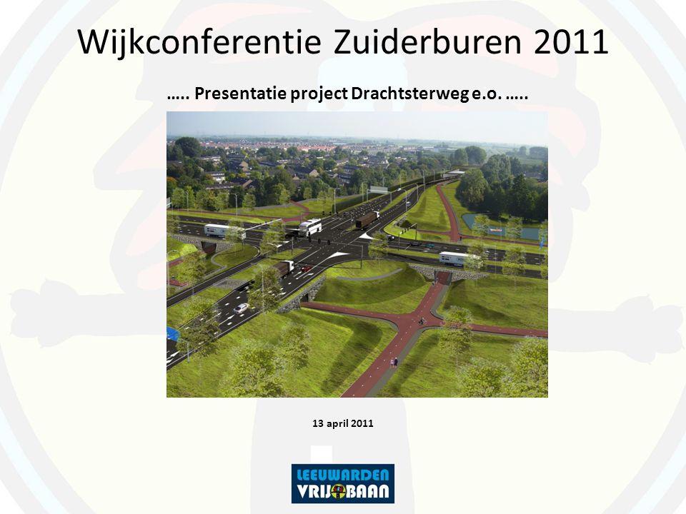 Wijkconferentie Zuiderburen 2011 ….. Presentatie project Drachtsterweg e.o. …..