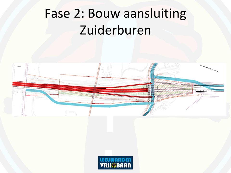 Fase 2: Bouw aansluiting Zuiderburen