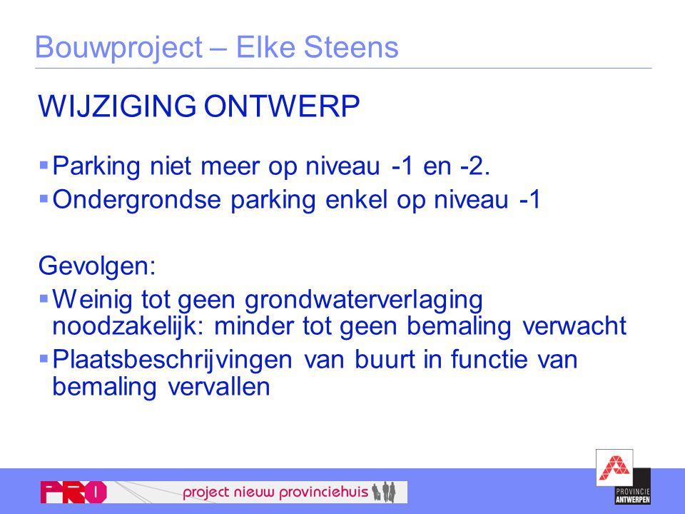 Bouwproject – Elke Steens