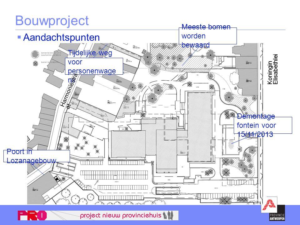 Bouwproject Aandachtspunten Poort in Lozanagebouw