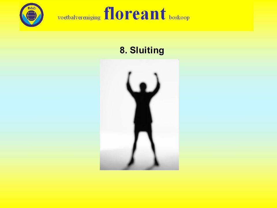 8. Sluiting