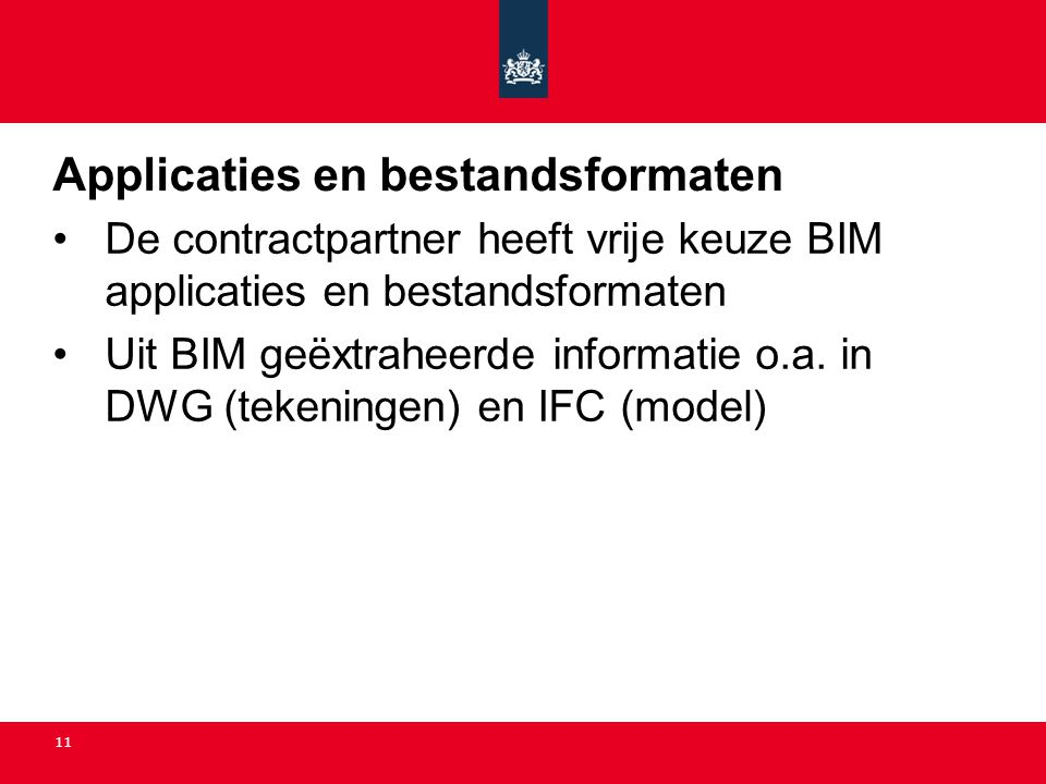 Applicaties en bestandsformaten