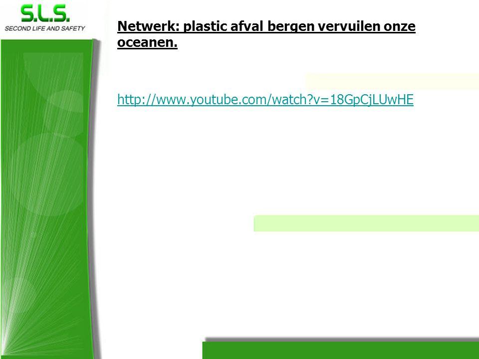 Netwerk: plastic afval bergen vervuilen onze oceanen.