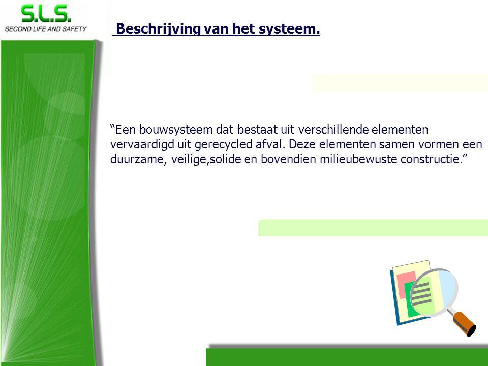 Beschrijving van het systeem.