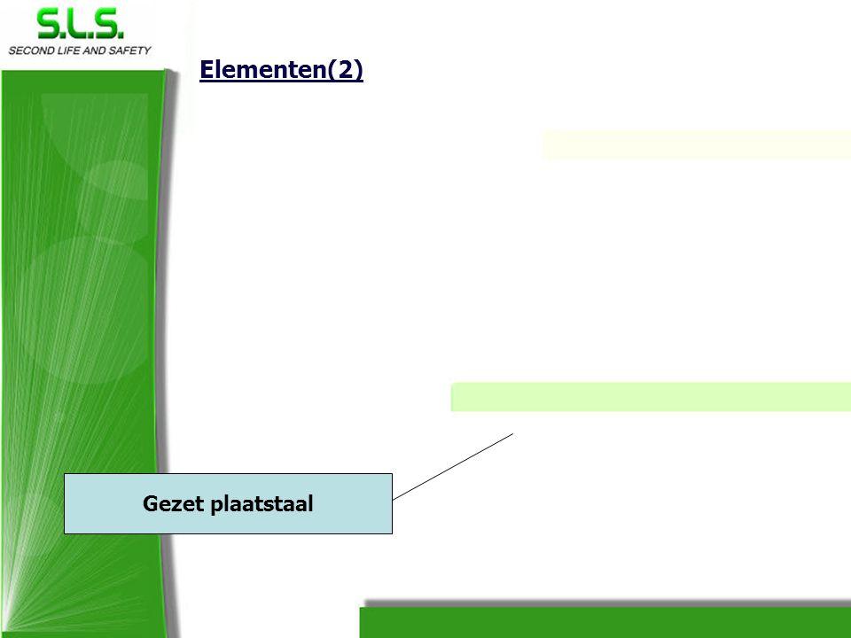 Elementen(2) Gezet plaatstaal
