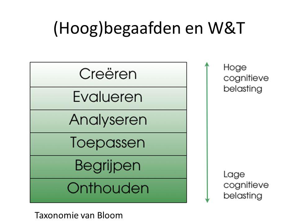 (Hoog)begaafden en W&T