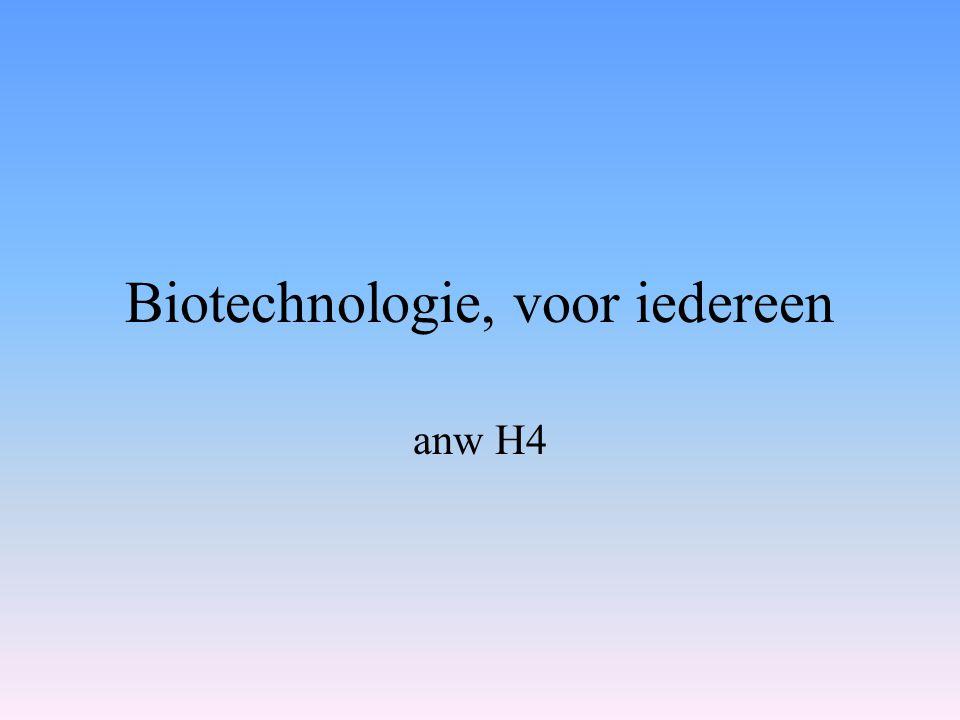 Biotechnologie, voor iedereen