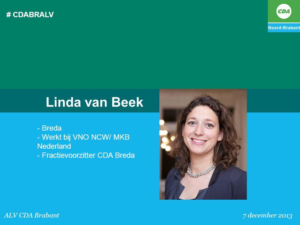 Linda van Beek # CDABRALV