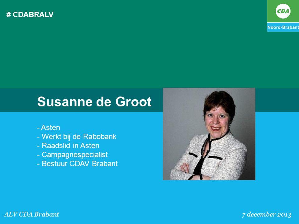 Susanne de Groot # CDABRALV