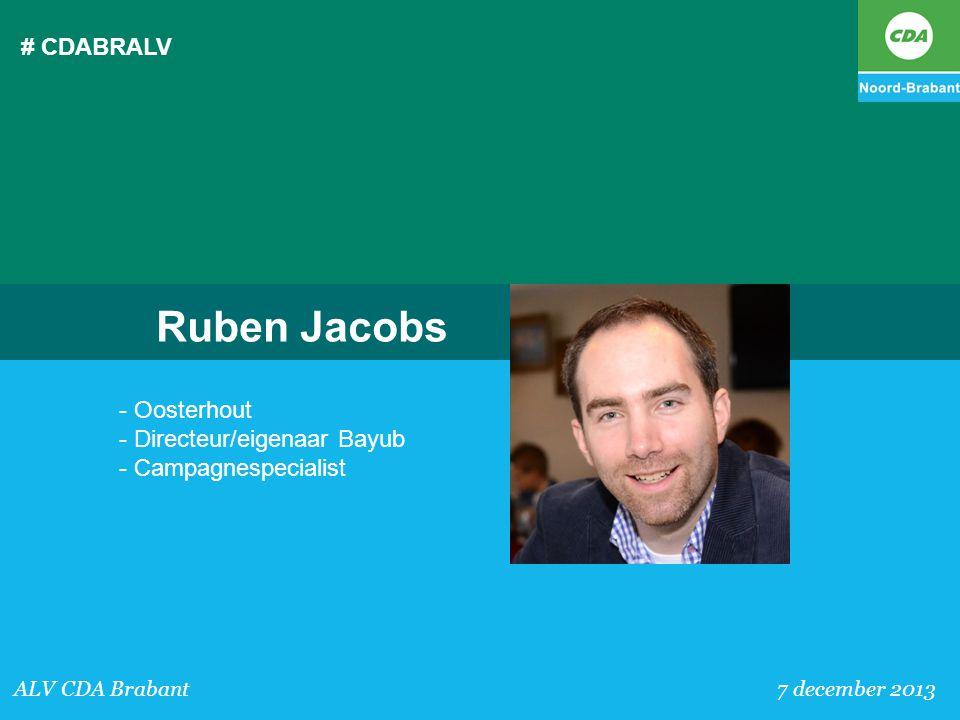 Ruben Jacobs # CDABRALV