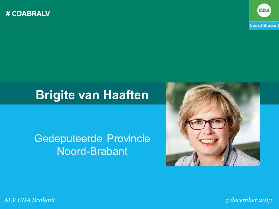 Gedeputeerde Provincie Noord-Brabant