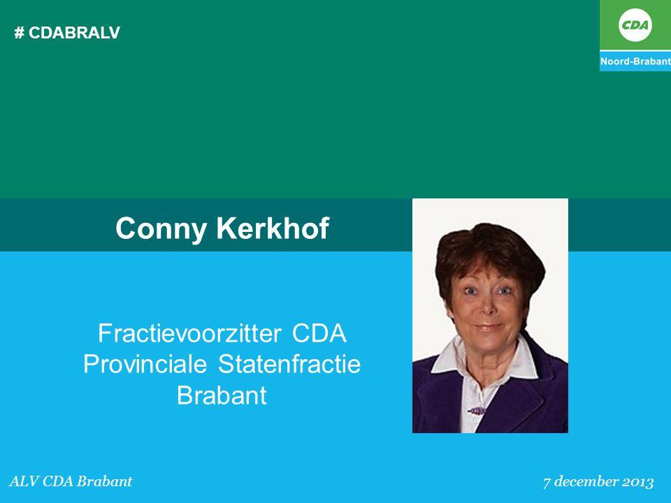 Fractievoorzitter CDA Provinciale Statenfractie Brabant