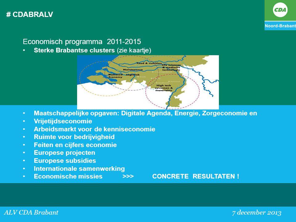Economisch programma 2011-2015
