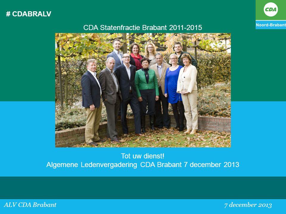 CDA Statenfractie Brabant 2011-2015