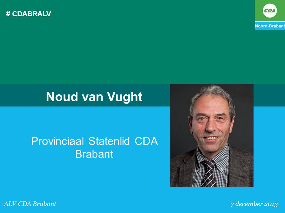 Provinciaal Statenlid CDA Brabant