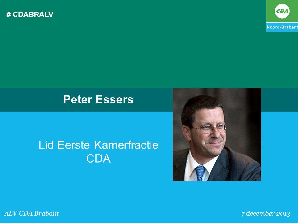 Lid Eerste Kamerfractie CDA