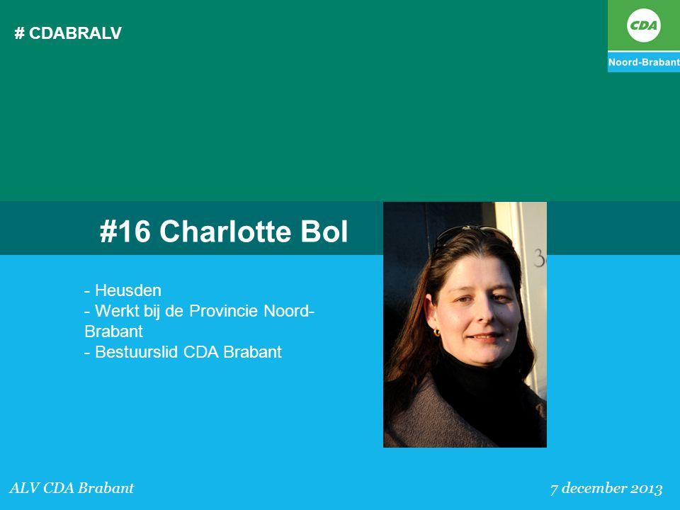 #16 Charlotte Bol # CDABRALV