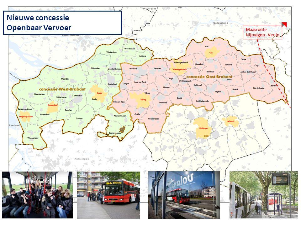 Nieuwe concessie Openbaar Vervoer Maasroute Nijmegen - Venlo