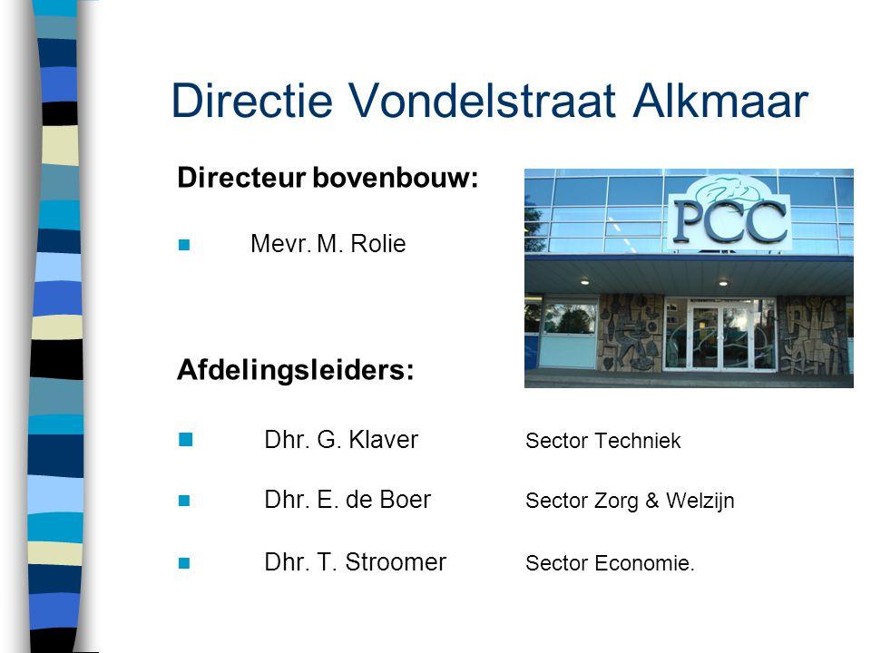 Directie Vondelstraat Alkmaar