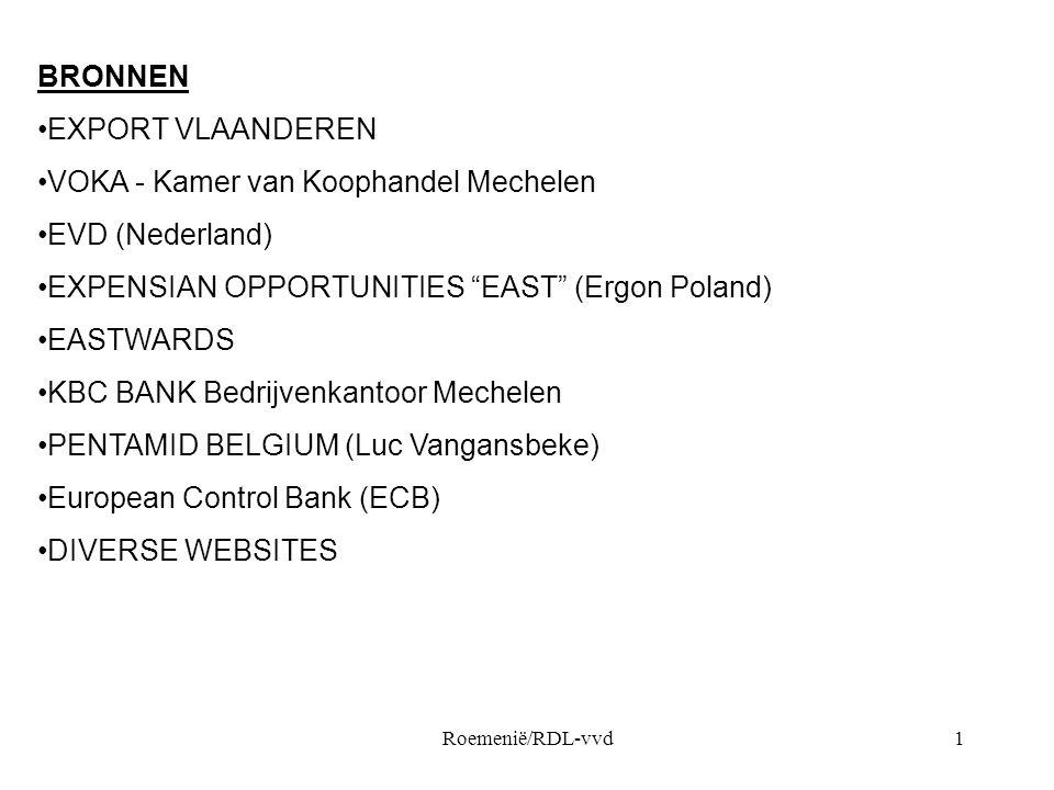 VOKA - Kamer van Koophandel Mechelen EVD (Nederland)