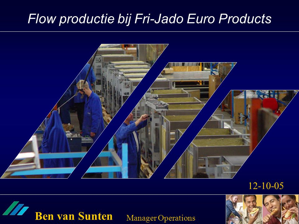 Flow productie bij Fri-Jado Euro Products