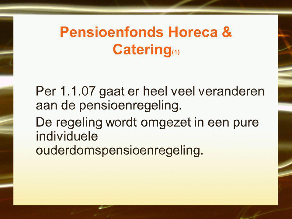 Pensioenfonds Horeca & Catering(1)