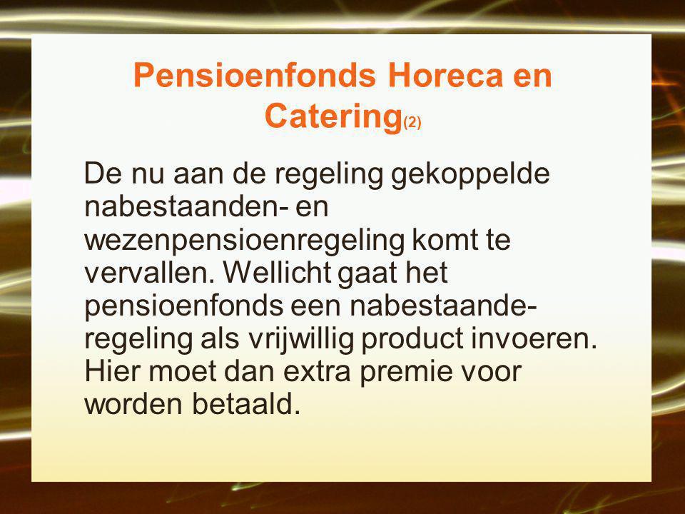 Pensioenfonds Horeca en Catering(2)