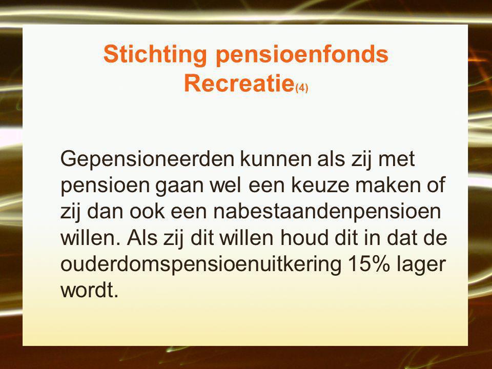 Stichting pensioenfonds Recreatie(4)