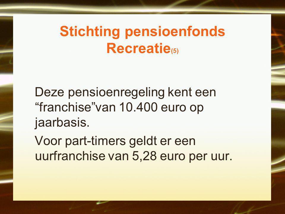 Stichting pensioenfonds Recreatie(5)