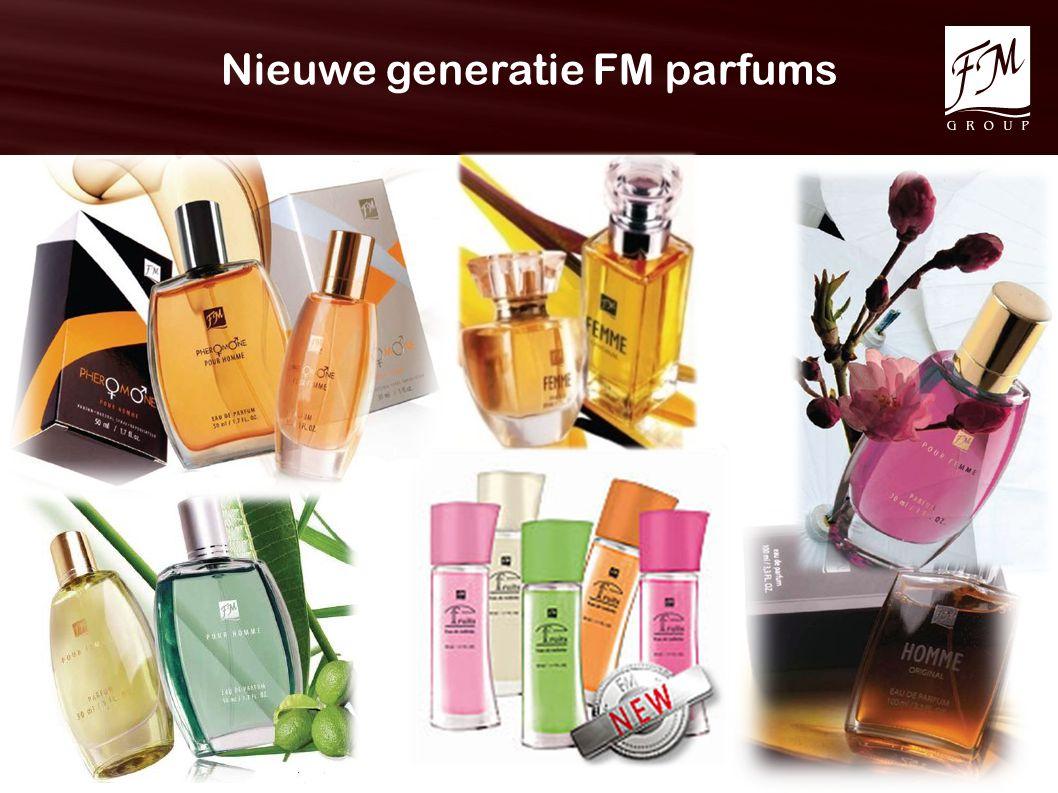 Nieuwe generatie FM parfums