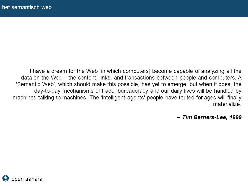 het semantisch web
