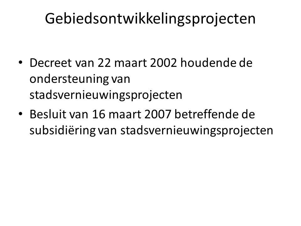 Gebiedsontwikkelingsprojecten