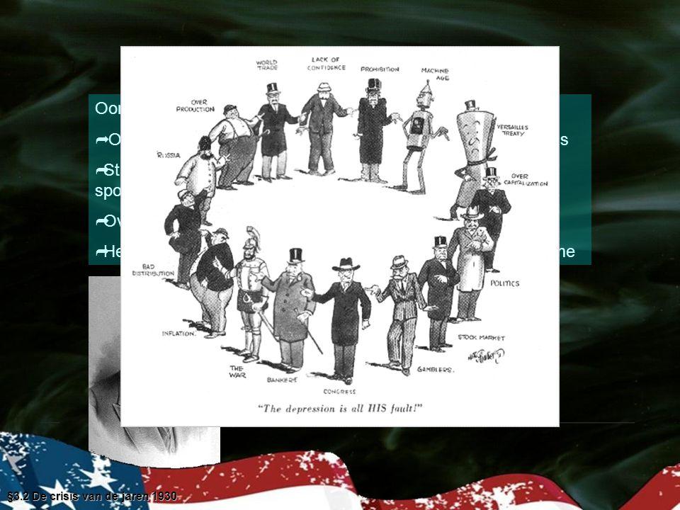 Oorzaken van de Great Depression