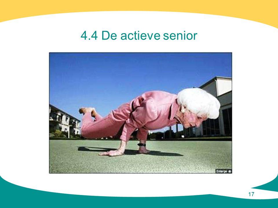 4.4 De actieve senior 17