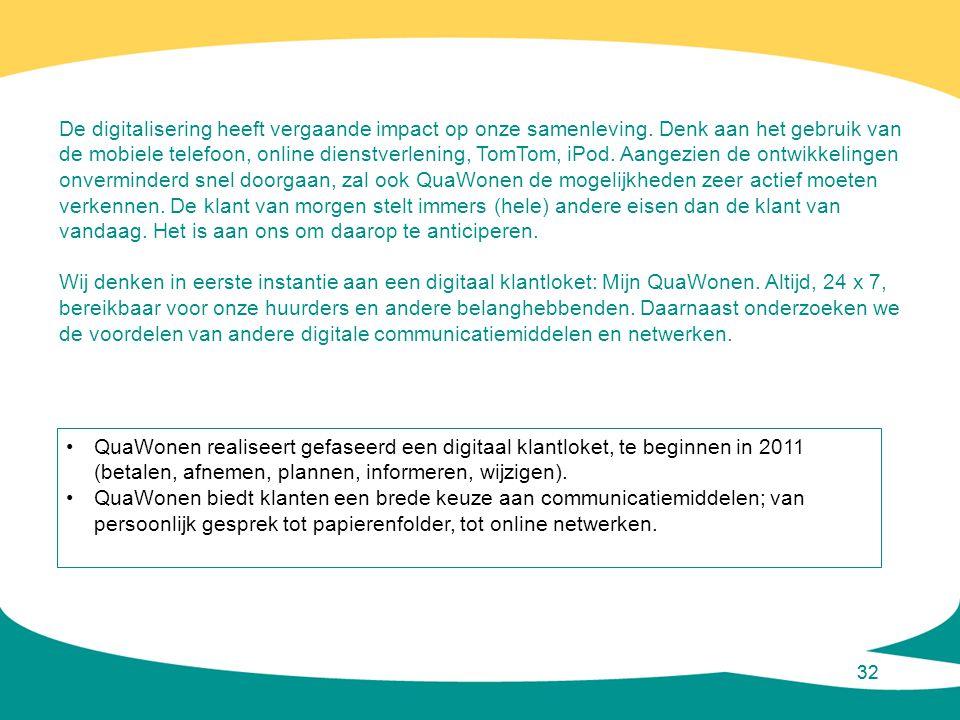 De digitalisering heeft vergaande impact op onze samenleving