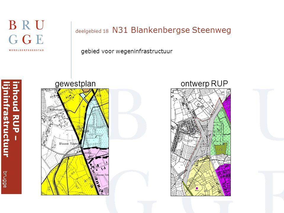 inhoud RUP – lijninfrastructuur brugge