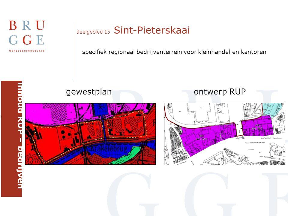 inhoud RUP – bedrijven brugge gewestplan ontwerp RUP