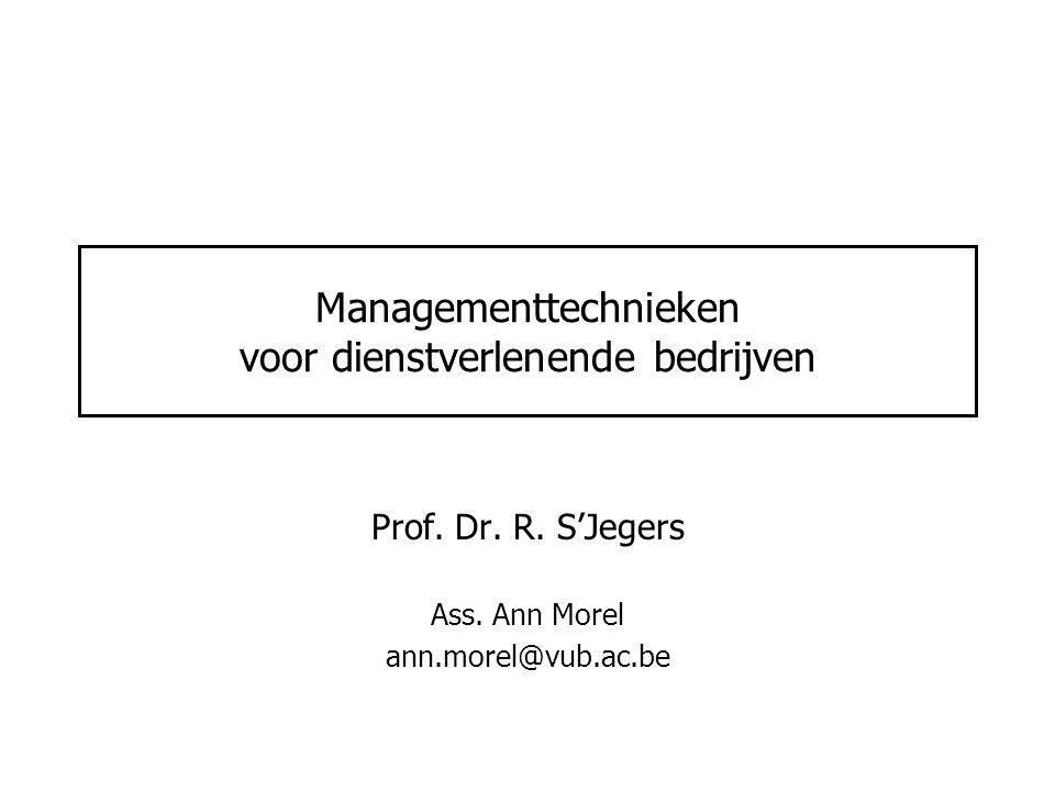 Managementtechnieken voor dienstverlenende bedrijven